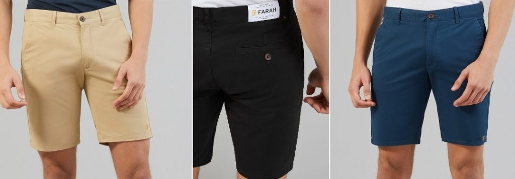 Hawk Chino Shorts by Farah