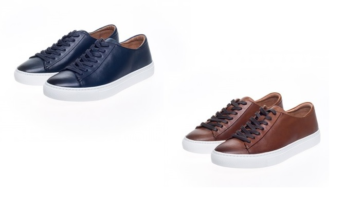 Cape Leather Trainers by John White