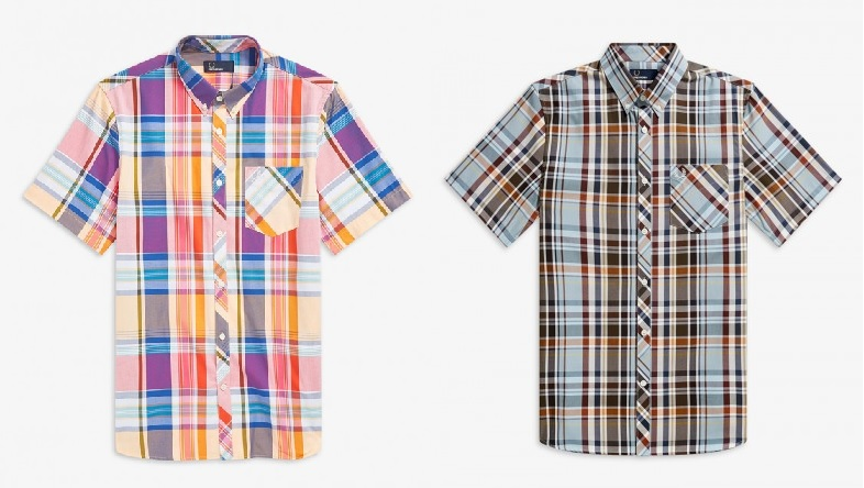 Madras Check Shirt by Fred Perry