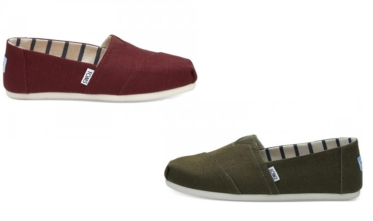 Heritage Canvas Slip On Shoe by Toms