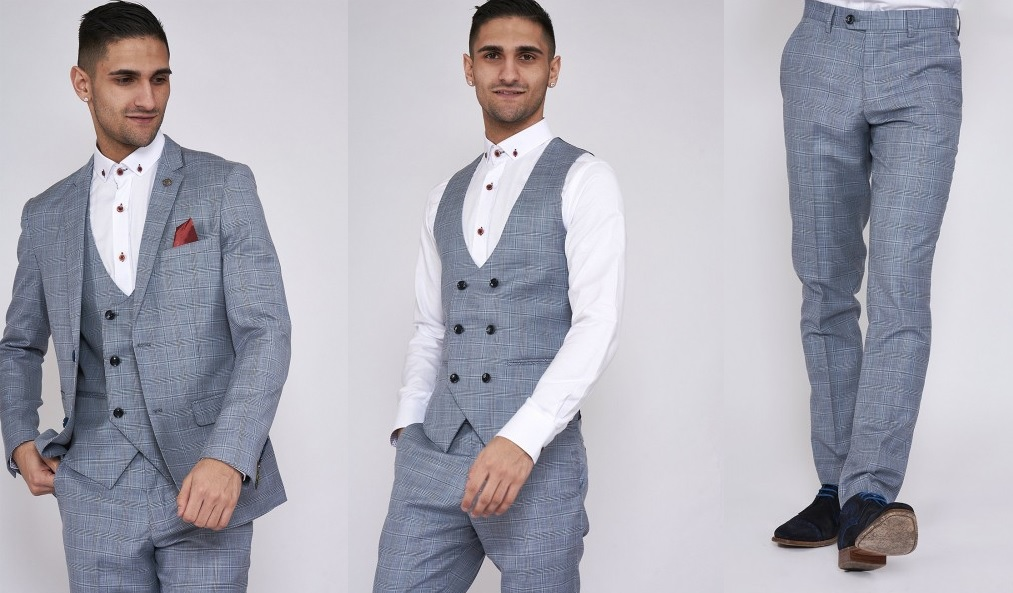 York Blazer Jacket, Waistcoat and Trousers by Marc Darcy