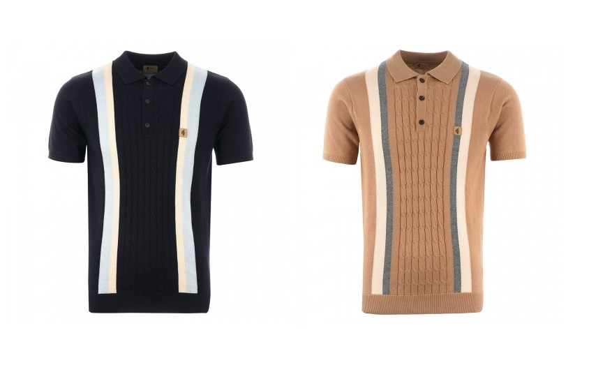 Vintage Knitted Polo Shirts by Gabicci