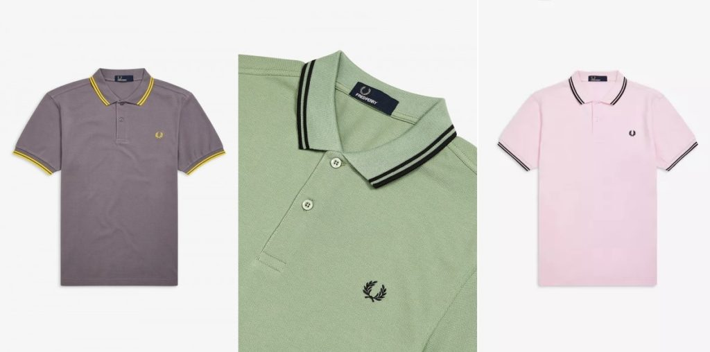 2019 Twin Tipped Pique Polo Shirt by Fred Perry