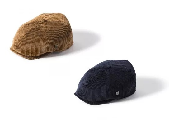 Hudson Cord Newsboy Cap by Failsworth
