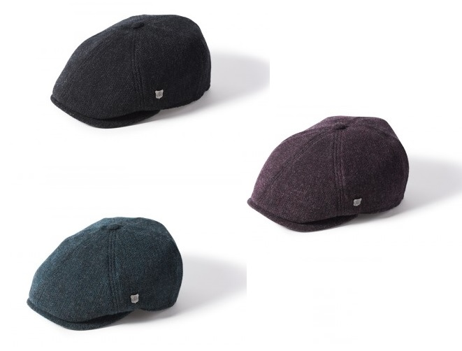 Hudson 6 Piece Newsboy Cap by Failsworth