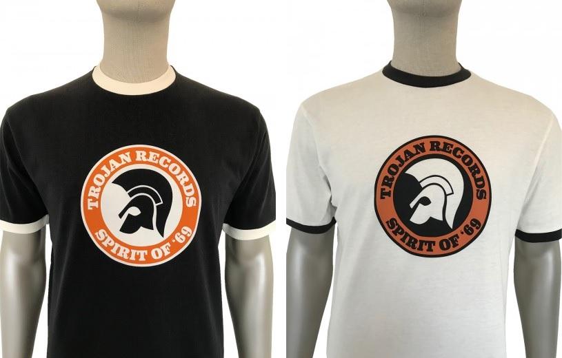 Spirit Of 69 Logo T Shirt by Trojan