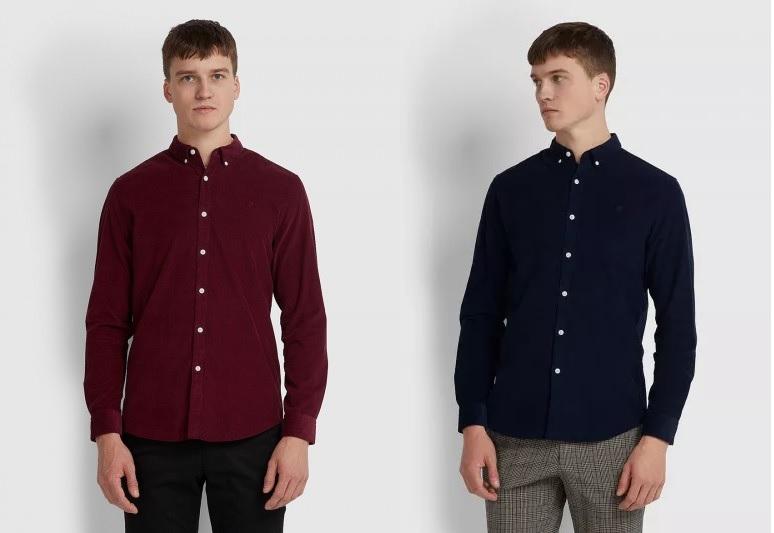 Fontella Cord Shirts by Farah