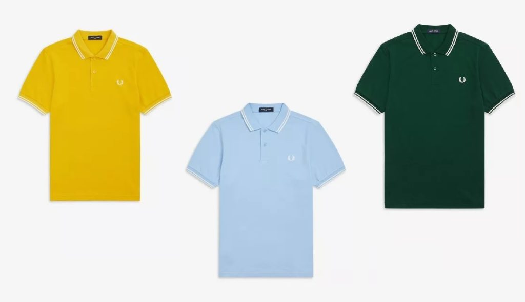 Twin Tipped Pique Polo Shirt by Fred Perry