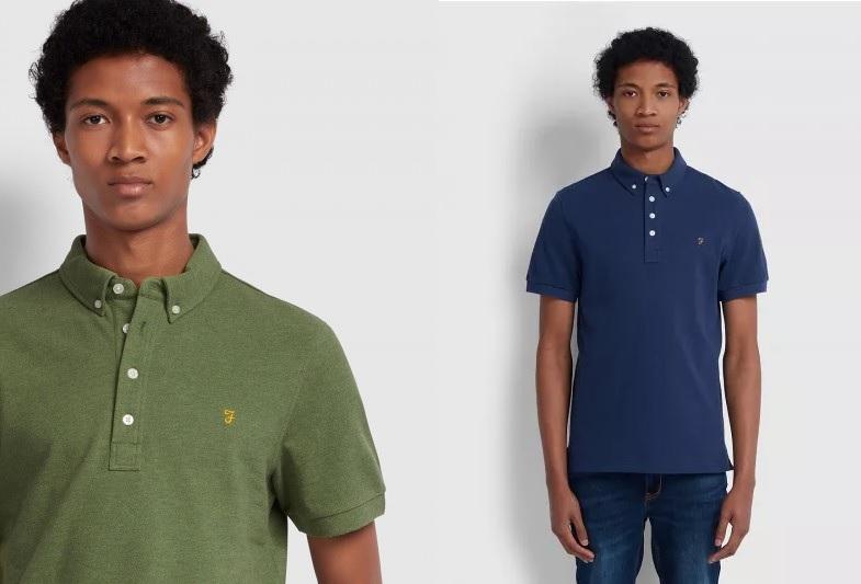 Ricky Short Sleeve Polo Shirts by Farah