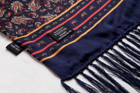 Pure Silk Retro Scarves