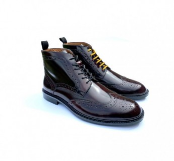 Garrison Leather Brogue Boot