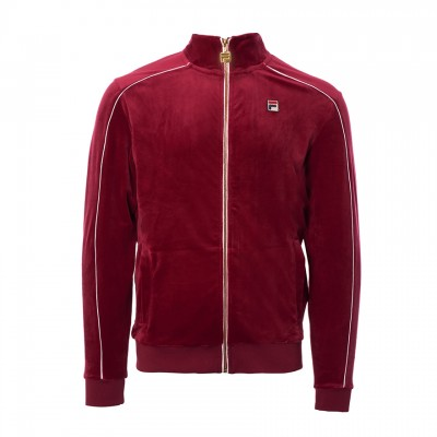 Lineker Velour Track Top