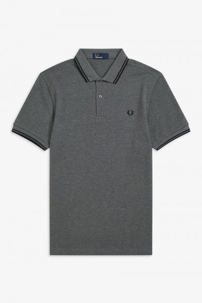 6ed18f0c Fred Perry M3600 Twin Tipped Pique Polo Shirt Polo Shirts, from ApacheOnline
