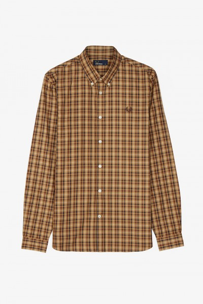 1eccf7cbe Fred Perry M5523 Twill Checked Shirt Shirts, from ApacheOnline