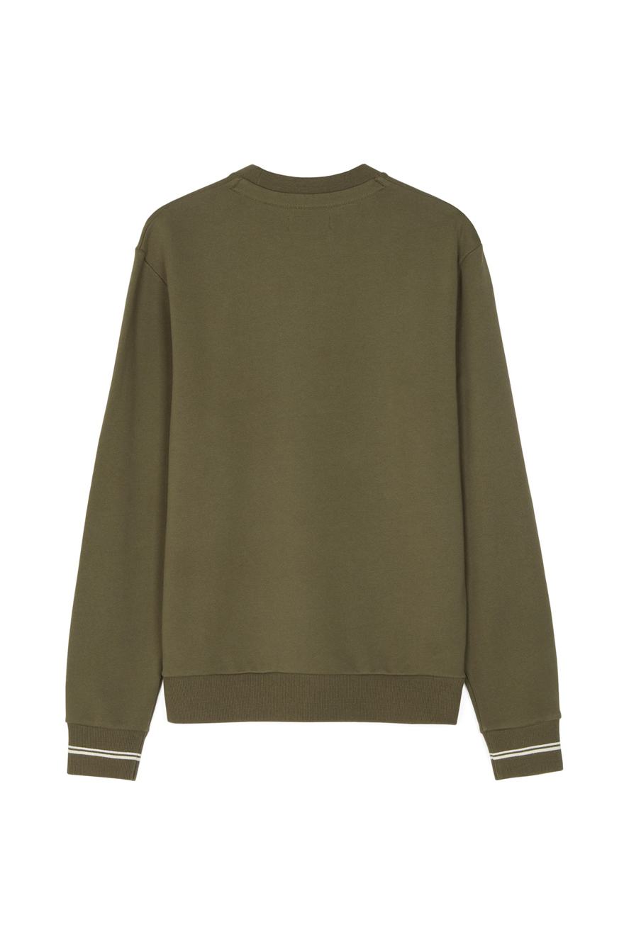 fred perry m2599 crew neck sweat sweaters from apacheonline. Black Bedroom Furniture Sets. Home Design Ideas