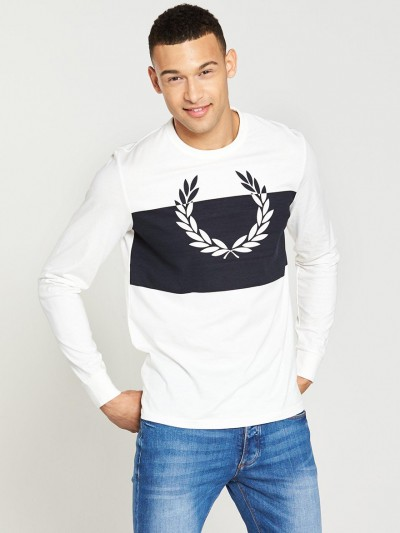 M4517 Blocked Laurel Wreath T Shirt