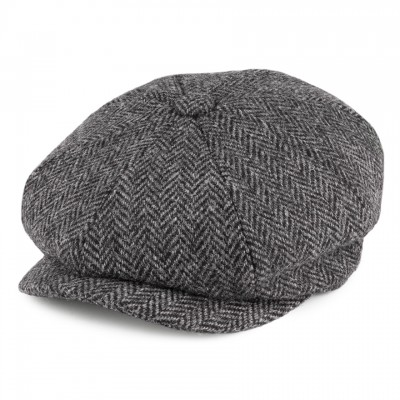 Carloway Harris Tweed Bakerboy Hat