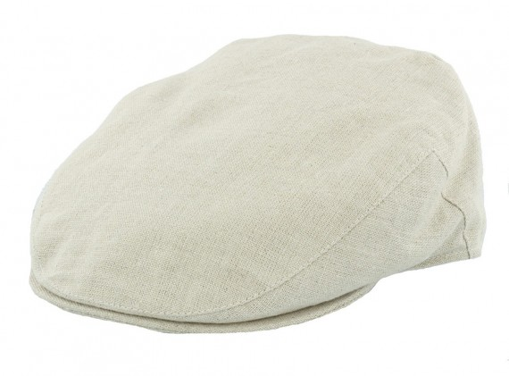 Irish Linen Flat Cap
