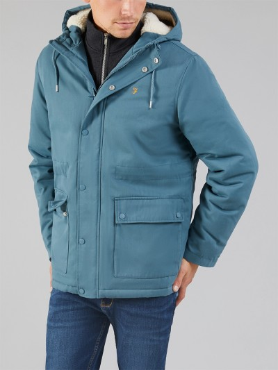 F4RF8034 Newhall Hooded Jacket