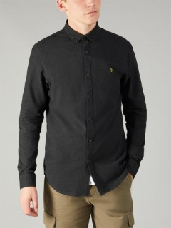 F4WF4040 Steen Brushed Marl Shirt
