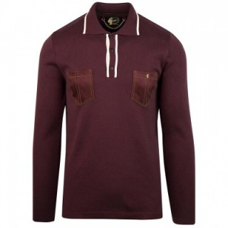 V41GM22 Hatchet Limited Edition Knitted Polo