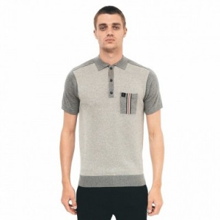 V42GM02 Birdseye Knitted Polo