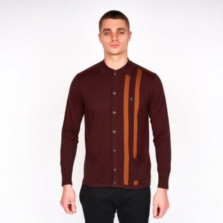 V43GM14 Moby Button Through Knit Polo