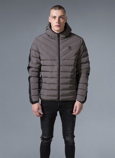 Axwell Hooded Quilted Jacket