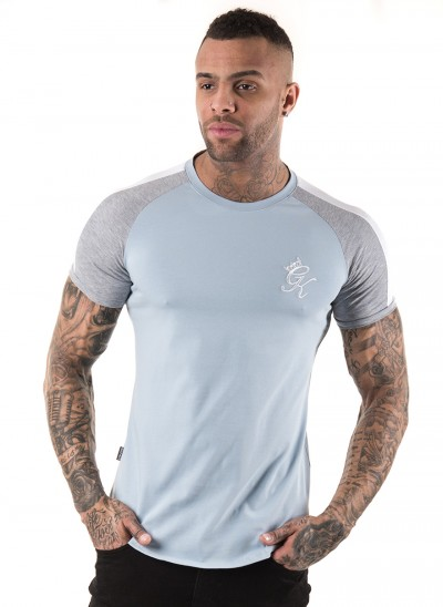 GK Longline Retro Stripe T Shirt