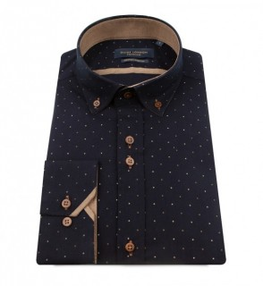 LS75801 Multi Dot Print Shirt