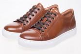 Halcyon Tan Leather Sneaker