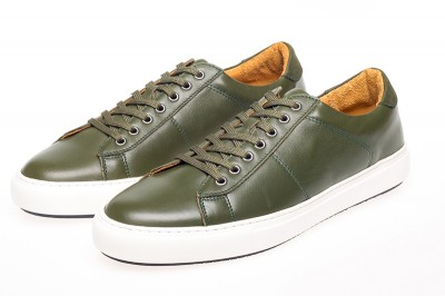 Bari Nappa Leather Trainers