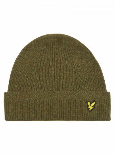 ca4b988f8f47e Lyle and Scott HE305CL Racked Rib Beanie Hat Headwear