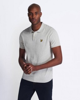 KN1102V Short Sleeve Knitted Polo
