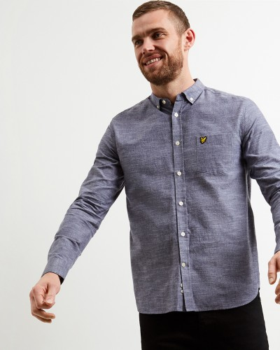 LW1102V Space Dye Oxford Shirt