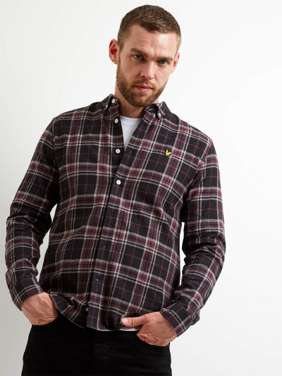 LW1103V Check Flannel Shirt