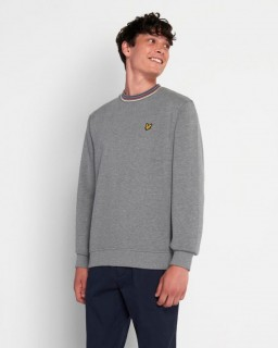 ML1358V Tipped Pique Sweatshirt