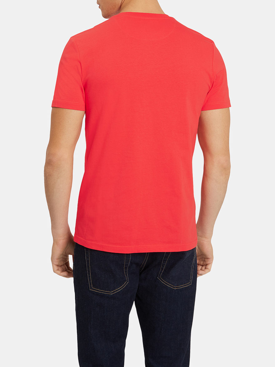Lyle And Scott Ts400v Plain Crew Neck T Shirt Shirts From Ampamp Polo Red Loading