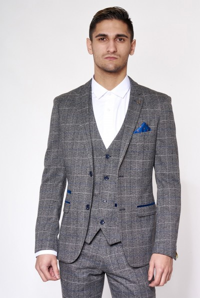 Scott Check Blazer Jacket