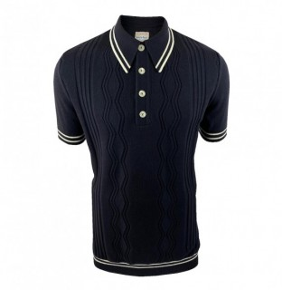 SS2400 Pointelle Knitted Polo