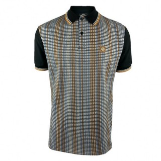 TR8567 Stripe Front Panel Polo Shirt