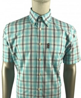 TR8506 Prince Of Wales Check Shirt