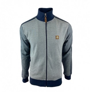 TR8554 Houndstooth Track Top