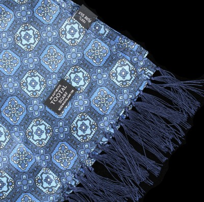 TV1803 Small Tile Print Scarf