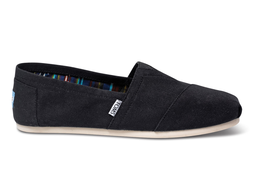 toms classic canvas slip on shoe footwear from apacheonline