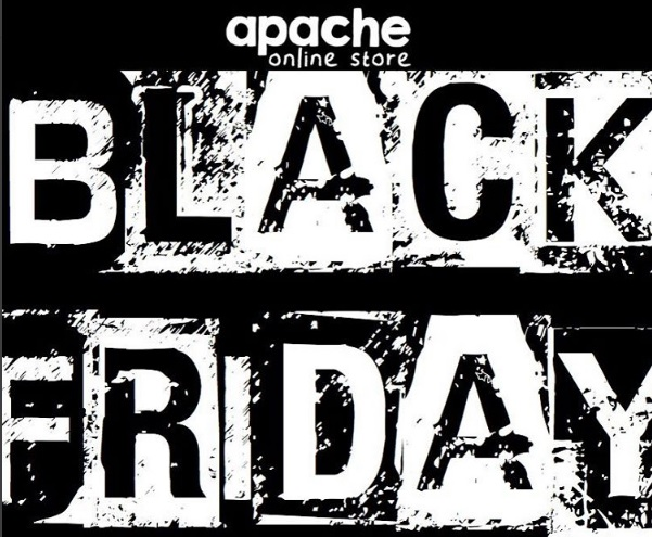 Save 60% at Apache on Black Friday Weekend