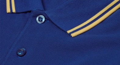 Cobalt Blue Fred Perry polo shirt